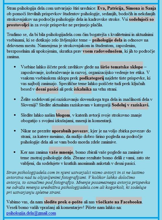 Nekaj dejstev o psihologijadela11