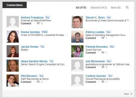 LinkedIn-Connections-List