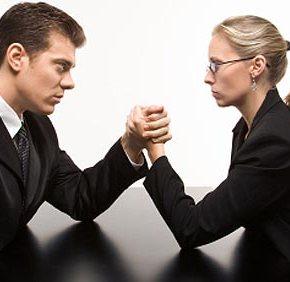 Vojna med spoloma na vodilnihpoložajih
