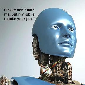 Bo robot prevzel vašedelo?