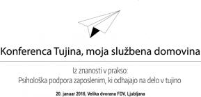 Obvestilo o spremembi prostora Konference2016