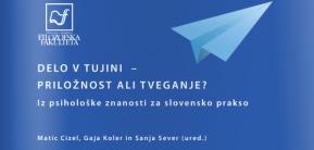 """NOVOST: Knjiga """"Delo v tujini"""" tudi ve-obliki"""