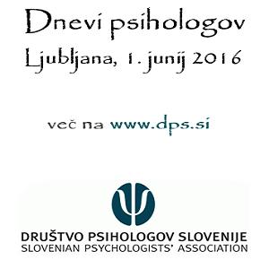 Dnevi psihologov 2016 – Dan za kariero: začetek, razvoj inzaključek
