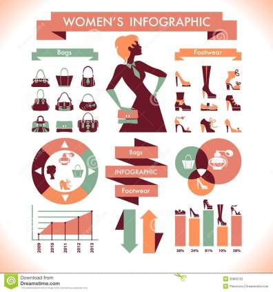 beautiful-women-s-infographic-symbols-35860722