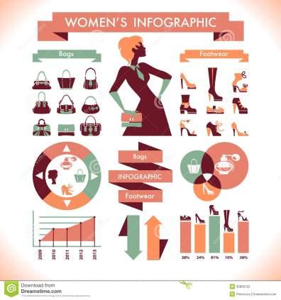 beautiful-women-s-infographic-symbols-35860722