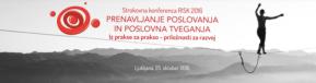 Strokovna konferenca RISK 2016: Prenavljanje poslovanja in poslovnegatveganja