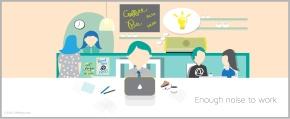 Lahko hrup iz okolja pripomore k produktivnosti inustvarjalnosti?