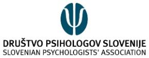 Vabilo za vključitev v INTERVIZIJO v sekciji za psihologijo dela inorganizacij