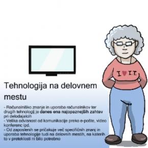 Zakaj izobraževati starejše zaposlene za uporabotehnologije?