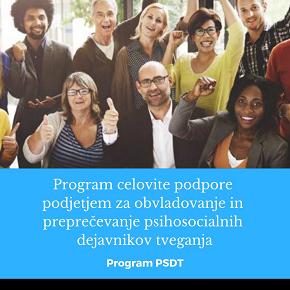 Priročnik za krepitev duševnega zdravja na delovnem mestu (ProgramPSDT)