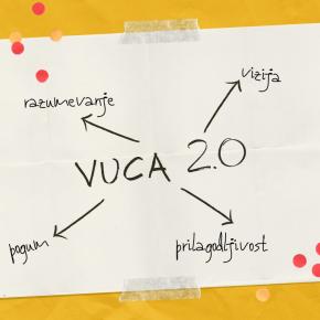 Modni trendi strateških organizacijskih vrednot – ste VUCAvodja?